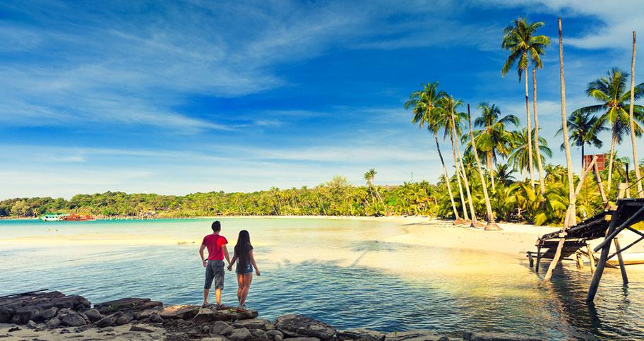 Honeymoon Reisen in Asien