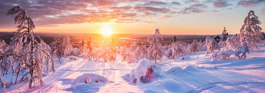 Schweden Reisen Winter Corona